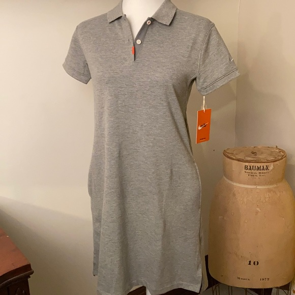 NWT NIKE POLO DRESS SZ SM